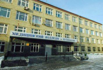 Tobolsk Medical College. Wołodia Soldatov: opis, specjalność i opinie