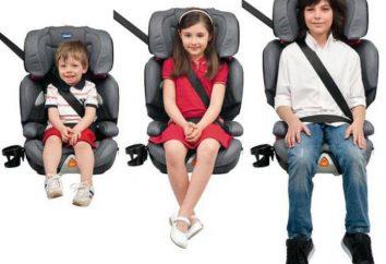 Comment choisir un siège d'auto 9-36 kg?