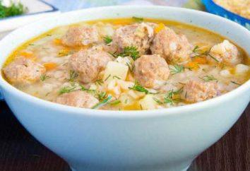 gnocchi di zuppa di pollo tritati: metodi di preparazione e sottigliezze di processo