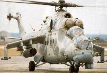 Mi-24 – Armia śmigłowiec. Mi-24 (śmigłowiec): Dane