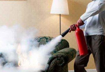 Polvere estinguente. Modulo di spegnimento in polvere. Impianti di estinzione in polvere