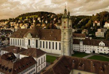 Il monastero di San Gallo. Svizzera Attrazioni
