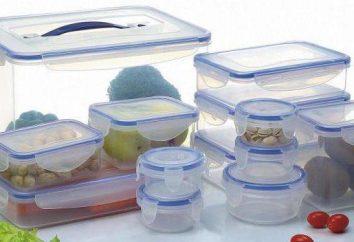 Comment choisir un récipient alimentaire avec un couvercle en plastique?