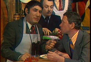 « Zucchini » 13 chaises. « Les acteurs, l'histoire du transfert légendaire de l'époque soviétique
