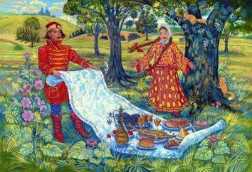 Em um conto de fadas tem toalha de magia, e ela chamou