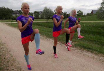 Hermanas tripletes de Estonia está listo para hacer un chapoteo en los Juegos Olímpicos-2016
