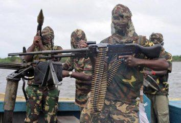 """""""Boko Haram"""" – uma organização islamita radical nigeriano. queima em massa de crianças islâmicos na Nigéria"""