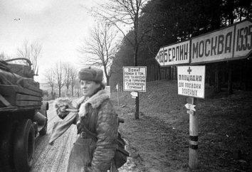Firma l'atto di resa incondizionata della Germania. La storia della seconda guerra mondiale