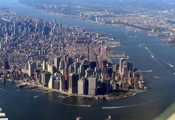 Wyspa Manhattan w rzeczywistości i kinie