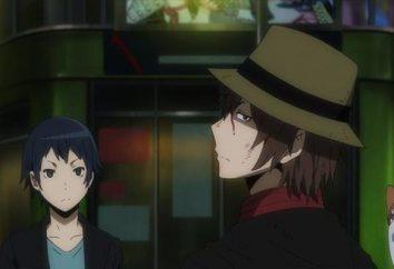 """Anime Durarara !!: Zeichen. """"Dyurarara"""" – die Anime-Adaption der Reihe der Bücher in dem Genre der """"light-Romane"""""""