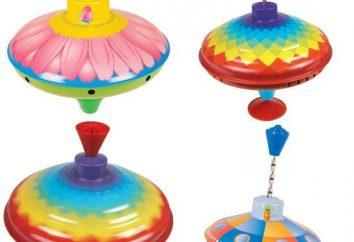 Przydatne zabawka – bąk. Liczba rodziców i specjalistów