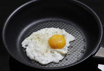 Come friggere un uovo su una padella?