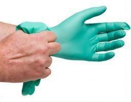 Rękawice nitrylowe. Opis. aplikacja