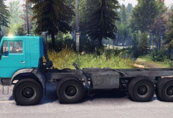 tracteurs microordinateur Kamaz-6350: les caractéristiques, les spécifications