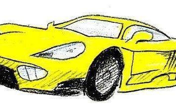 Jak narysować samochód z ołówkiem? Prosta technika rysunku