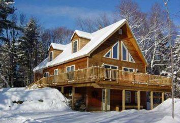Chalet – uma casa quente e aconchegante nas montanhas