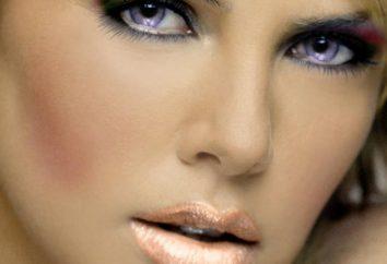 mutación genética: ojos violetas