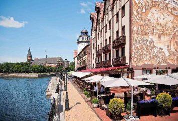 Donde hay restaurantes Kaliningrado
