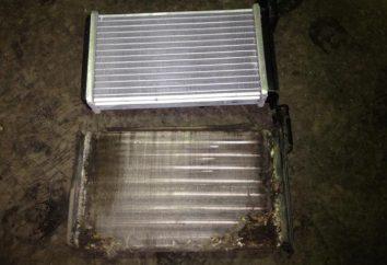 Wymiana chłodnicy ogrzewanie VAZ-2115 bez demontażu panelu