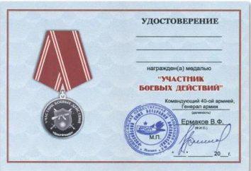Certyfikat weteranów walki. Ustawa o kombatantów