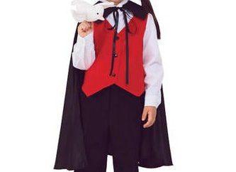 Mały czarodziej: kostium dla chłopca z rękami