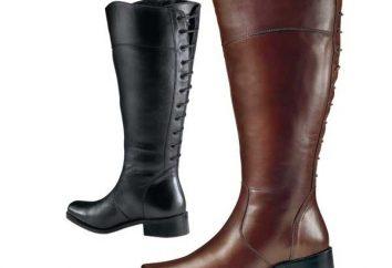 La scelta di stivali gambe piene