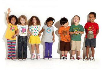"""Dzieci US size """"Aliekspress"""": tabela"""