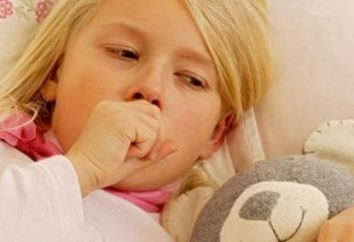 Tosse em uma criança sem febre. Do que para tratar esta doença?