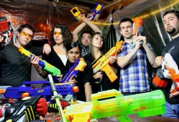 """Nerf"" – Pistolen der Firma Hasbro"