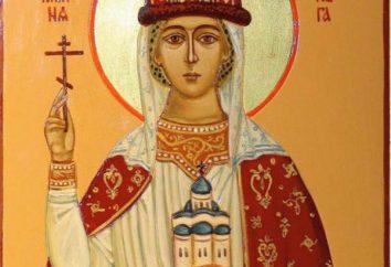 Icona di Santa Olga: valore, che è di fronte a sue preghiere?