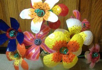 Un fiore in plastica è un regalo ideale per la seconda metà!