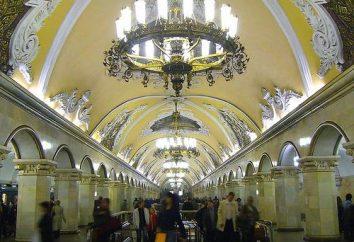 La station de métro « Gorky » – un endroit merveilleux de la grande ville