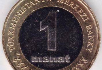 AZN – Turkmen moeda nacional