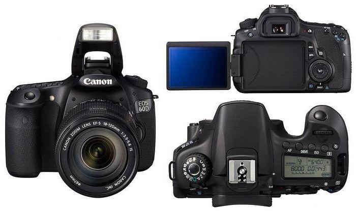 cámara réflex Canon EOS 60D: Las especificaciones y Comentarios