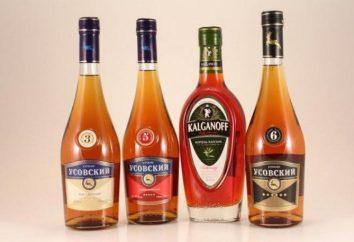 """Cognac """"Usovsky"""". Description, commentaires"""