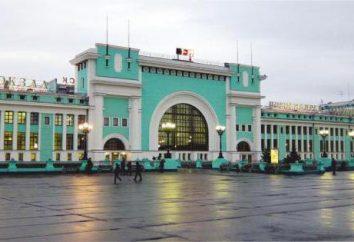 Toutes les stations de Novossibirsk