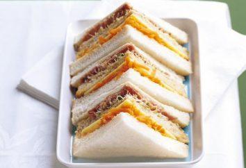 Come preparare i panini per il buffet?