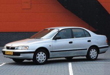 """""""Toyota Carina E"""" – zdjęcia, rysunki i specyfikacje"""