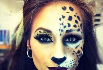 Comment faire le maquillage de chat pour Halloween? chats de maquillage pour les enfants