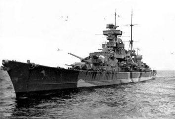 """Ciężki krążownik """"Wydruki Oygen"""": główne cechy. Prinz Eugen (1938)"""