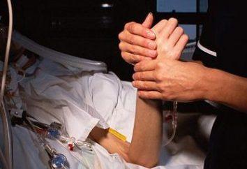 Dying (recumbent) dei pazienti: i sintomi prima della morte