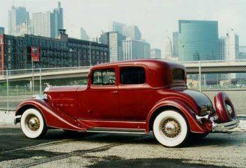 Le développement de l'industrie automobile. Voiture ancienne.
