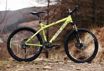 Opuszczone: rowery, cechy modeli, recenzje