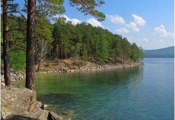 Ilha fé no Lago Turgoyak – atracção dos Urais