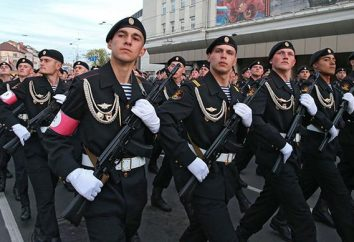 """infantaria naval russa. """"boinas pretas"""": preparação"""