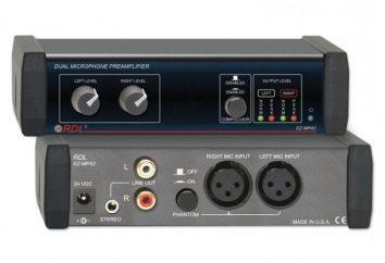 Przedwzmacniacz mikrofonu – gwarantuje doskonały dźwięk
