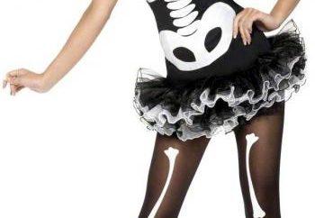Skelett-Kostüm: düster, aber charmant