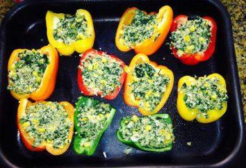 Come cucinare peperoni ripieni senza carne: le ricette, le opzioni di guarnizioni