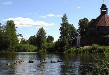 Priozersk. Attrazioni città unica