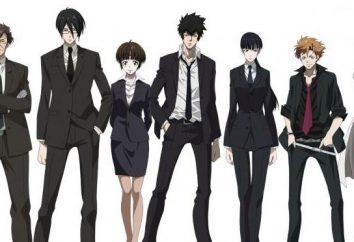 "Anime ""Psihopasport"": caratteri. ""Psihopasport"": i personaggi principali ed i loro nomi"